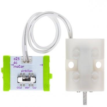 Littlebits Output Bits - Dc Motor (tethered ) Lb-650-0142-001a1