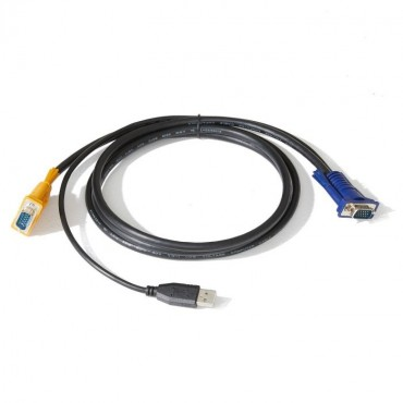 4Cabling 1.8M Usb Kvm Cable For 4Cabling Rackmount Kvm Switch 006.008.7030