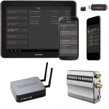 Tosibox Startkit: Tosibox Ke Y Mobile Client & Lock 150 & Modem (Tbkit150Mau)