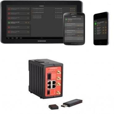 Tosibox Starter Kit: Tosibox Key Mobile Client Lock 500I & 1 Tosibox Simcard (Tbkit500B)