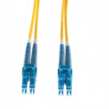 4Cabling 10M Lc-Lc Os1/ Os2 Singlemode Fibre Optic Cable: Yellow 2Mm Oversleeving Fl.Os2Lclc10M
