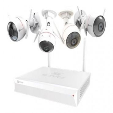 Ezviz Cs-Bw2424-B1E10 Wireless Camera System(4-Channel) 4 Cam Kit - 1 X X5C Nvr With 1Tb Cs-Bw2424-B1E10