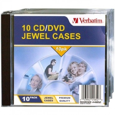 Verbatim 10Pk Empty Cd Case 41852