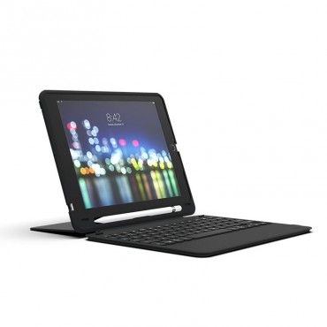Mophie Zagg Keyboard Slimbook Go - Apple-Ipad 9.7 - Black 103302308