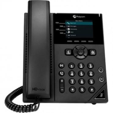 Polycom VVX 250 4-Line Desktop Ip Phone 2200-48820-025