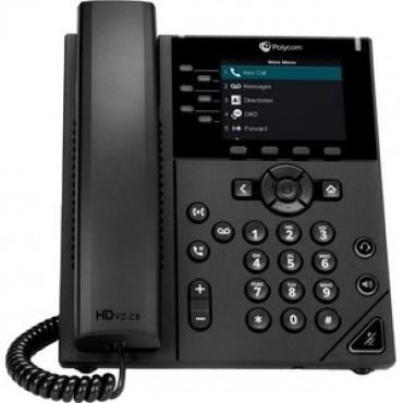 Polycom VVX 350 6-Line Desktop Ip Phone 2200-48830-025