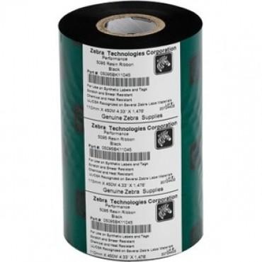Zebra S5095 Resin AP ribbon: 60mm x 450m S5095Bk06045