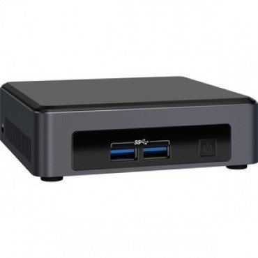 Intel Nuc Mini Pc I3-7100U 4Gb 128Gb W10P Blknuc7I3Dnktc4