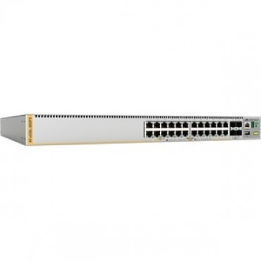 Allied Telesis 24 Port Poe+ Stackable Switch W/4 Sfp (AT-X530L-28GPX-N1)