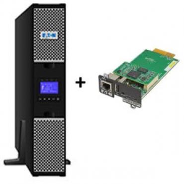 EATON 9PX 2000VA / 1800W 2U RACK/TOWER U + Gigabit Network Card (3118909 + 4334350)