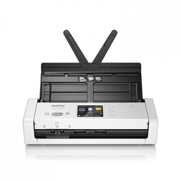 Brother Ads-1700W Compact Document Scanner With Touchscreen Lcd Display & Wifi (25Ppm) One Year Warranty Ads-1700W