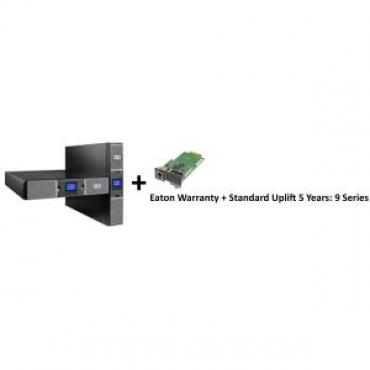 EATON 9PX 2000VA / 1800W 2U RACK/TOWER U + Warranty+ standard uplift 5 year: 9 seri + Gigabit Network Card (3118909 + 2681794 + 43343)