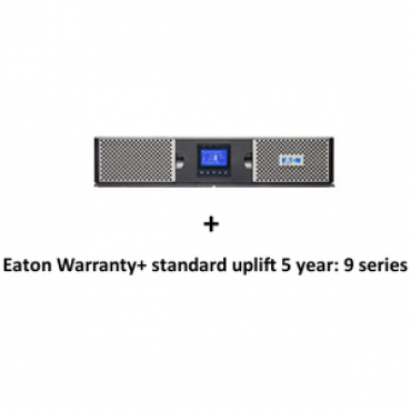 Eaton 9PX 3000VA 2U Rack/Tower, 16Amp In + Warranty+ standard uplift 5 year: 9 seri (3974547 + 2681795)
