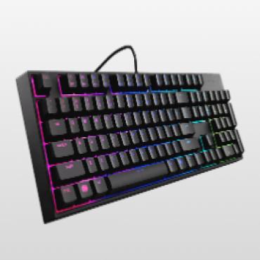 Coolermaster Masterkeys Lite L Rgb Mem-Chanical Keyboard & Mouse Bonus Rgb Gaming Mousep Sgb-3040-Kkmf1-Us-Pad