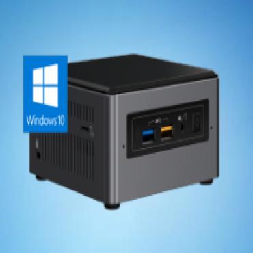 Intel Nuc Mini Pc I5-8265 U 8Gb Ddr3 1Tb Hdd 16Gb Optane Radeon Win 10 3Yr Wty Bxnuc8I5Inhja4