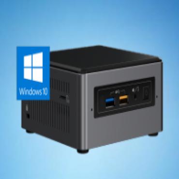 Intel Ultra Mini Nuc Pc I3-7100U 4Gb(1/ 2) 128Gb Ssd Wl-Ac W10P 3Yr Nbd Nuc7Dnk-I3-4-128