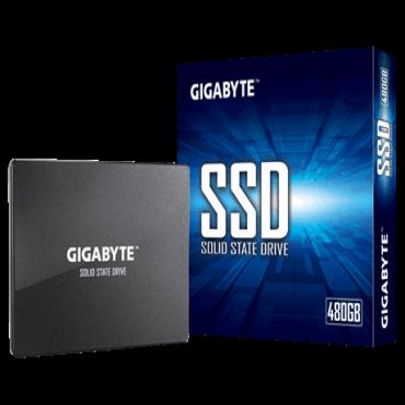 "Gigabyte 480Gb SSD 2.5"" Sata Up To Read 500Mb/s Write 480Mb/S 200Tbw 3Yr Wty Gp-Gstfs31480Gntd"
