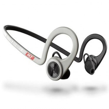 Plantronics Backbeat Fit Wireless Stereo Headset With Microphone - Sport Grey 206002-08