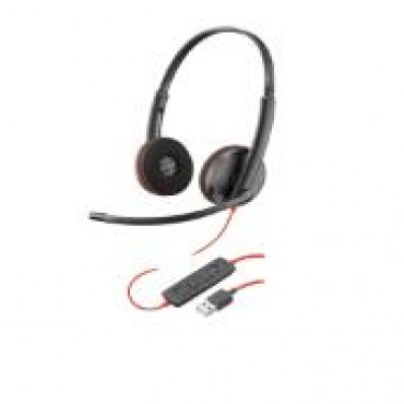 PLANTRONICS BLACKWIRE C3220 STEREO UC USB-A HEADSET 209745-101