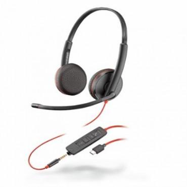 Plantronics Blackwire C3225 Stereo Uc Usb-c Headset W/ 3.5mm 209751-101