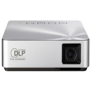 Asus S1 Mobile Led Projector - Built-in 6000mah Battery, 200 Lumens, Hdmi/ Mhl, Speakers S1