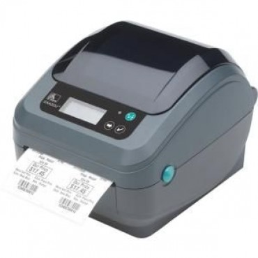 Zebra Gx420D 4In Desktop Direct Thermal Printer 203Dpi Uk/Au/Jp Cords Epl2 Zpl Ii Usb Serial Centronics