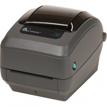 Zebra Gx430T 4In Desktop Thermal Transfer Printer 300Dpi Uk/Au/Jp Cords Epl2 Zpl Ii Usb Serial Centronics