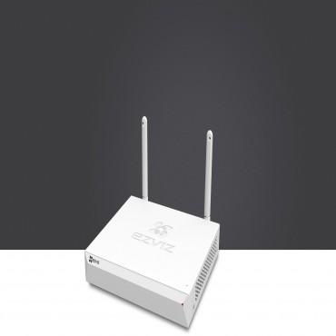 "Ezviz NVR SYSTEM (X5C-8Ch) Wireless H.264 Hdmi Vga Usb Sata 3.5"" Hdd(0/ 1) 2Yr Cs-X5C-8Peup"
