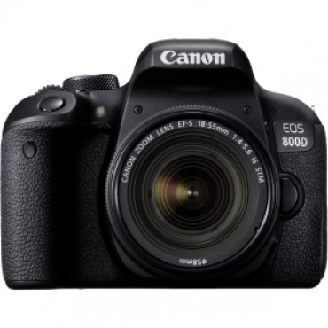 CANON 800DKIS EOS 800D Single kit w/ EFS18-55mm f/4-5.6 IS STM 800DKIS