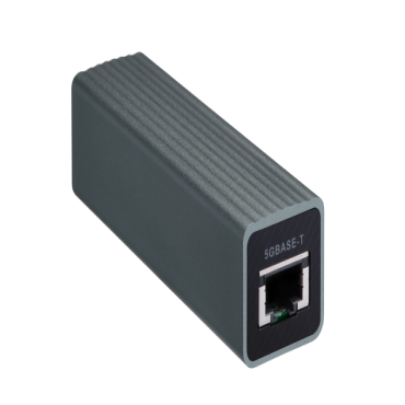 Qnap Usb 3.0 To Single Port Rj45 5Gbe/ 2.5Gbe/ 1Gbe/ 100Mbe Adapter Bus - QNA-UC5G1T