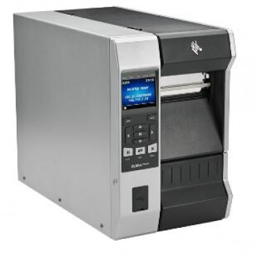 "Zebra Tt Printer Zt610; 4"", 203 Dpi, Uk/Au/Jp/Eu Cords, Serial, Usb, Gigabit Ethernet, Bluetooth"