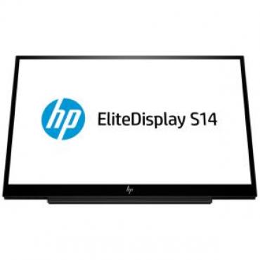 "Hp S14 14"" (16:9) Fhd Portable Display 200N 1920X1080 700:1 5Ms Usb-C 3Yr 3Hx46Aa"