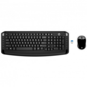 Hp Wireless Keyboard And Mouse 300 (3Ml04Aa)