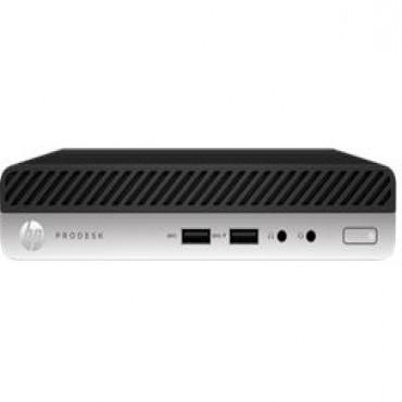 Hp Prodesk 400 G4 Dm (4vt99pa) I3-8100t 4gb(1x4gb)(ddr4) 500gb W10p-64b 1yr Onsite 4vt99pa
