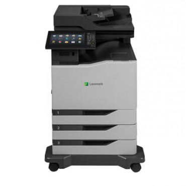 LEXMARK NETWORK AND DUPLEX READY COLOUR LASER MFP PRINT AND COPY UPTO 52 PPM BLACK OR COLOUR SCAN AND FAX UP TO 114 IPM WITH SINGLE PASS DUPLE… 42K0265