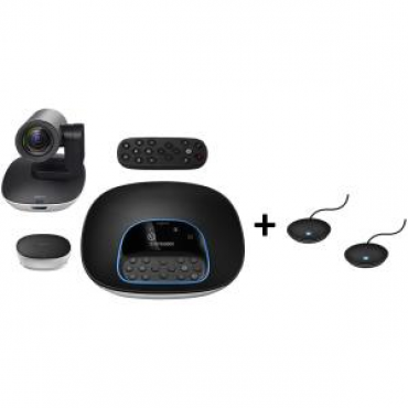 Logitech Group + Expansion Microphones In A Convenient Bundled Offering Group+Expansionmics