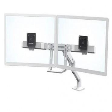 Ergotron Hx Desk Dual Monitor Arm White 45-476-216
