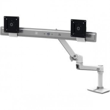 ERGOTRON LX Dual Direct Desk Mount Arm White 45-489-216