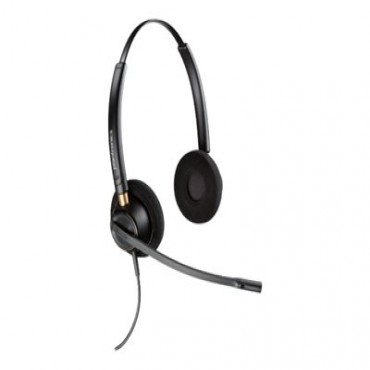 Plantronics Encorepro Hw520D Over-The-Head Binaural Digital Series Corded Headset Top 203192-01
