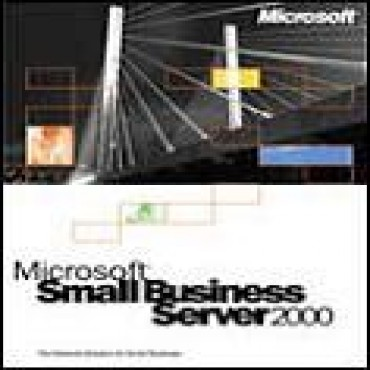 Microsoft Small Business Server 2000 W/ Sp4 (5 Client)