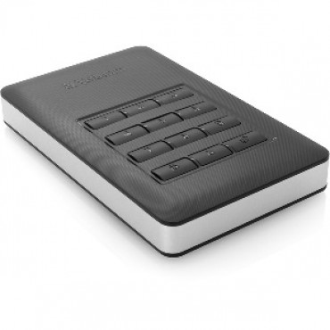 VERBATIM 2.5in USB 3.1 STORE'N'GO SECURE HDD W/KEYPAD ACCESS 1TB - BLK 53401