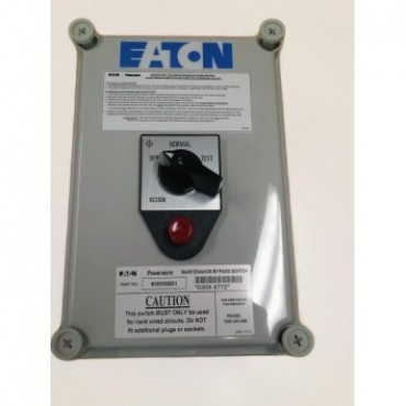 Eaton 6000MBS1 1-6kVA Hardwired interlocked external bypass (max 6mm cable) 6000MBS1