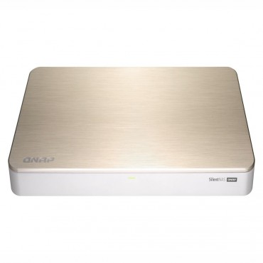 Qnap Hs-453Dx-8G 4-Drive Fanless Nas Intel Celeron J4105 4-Core 1.5Ghz (Up To 2.5Ghz) 8Gb Ddr4 Ram (2 X 4Gb) 2Yr Wty Hs-453Dx-8G