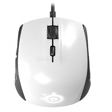 STEELSERIES RIVAL 100 GAMING MOUSE WHITE 62335