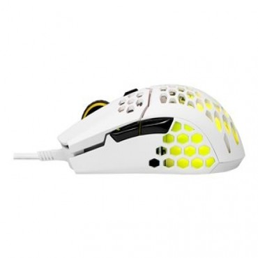 Cooler Master Mastermouse Mm711 Rgb Optical Mouse 16000Dpi Omron Sw Matte White Mm-711-Wwol1