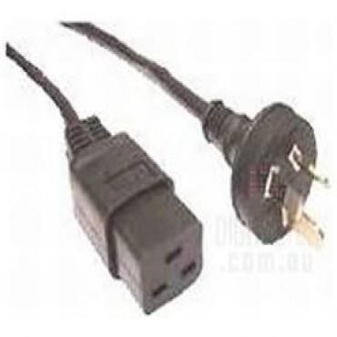 Eaton 6e1619 3pin Male Plug To C20(male) 15a 2metre Cord