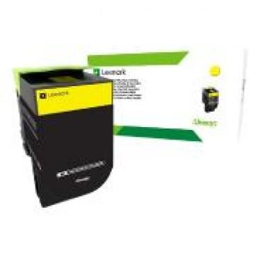 Lexmark 708Xye Yellow Extra High Yield Corporate Toner Cartridge 4K Cs510 70C8Xye