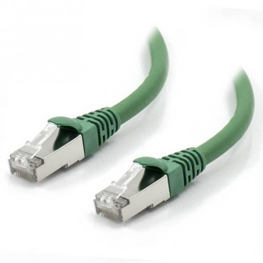 Alogic 2M Green 10G Shielded Cat6A Lszh Network Cable C6A-02-Green-Sh