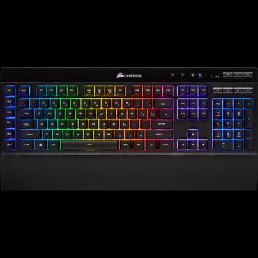 Corsair K57 Rgb Wireless Gaming Keyboard With Slipstream Wireless Technology Backlit Rgb Led Black Ch-925C015-Na