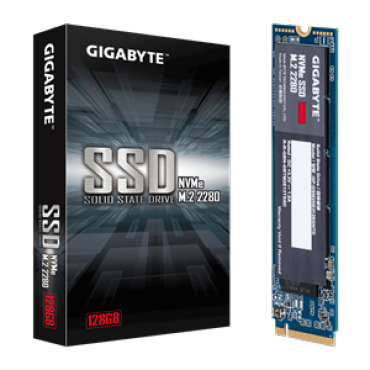 Gigabyte Ssd M.2(2280) Nvme Pcie 3X4 128Gb Read:1550Mb/ S(100K Iops) Write:550Mb/ S(130K Iops) 2.2W 5 Years Limited Warranty Gp-Gsm2Ne3128Gntd